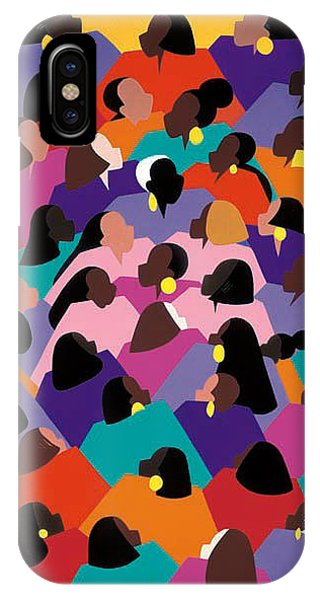 iPhone Case - Circle Of Promise by Synthia SAINT JAMES
