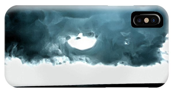 Circle Of Storm Clouds IPhone Case