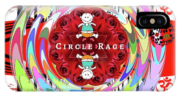 Circle Rage IPhone Case