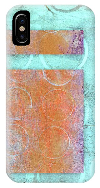 Circles And Rectangles Abstract  IPhone Case