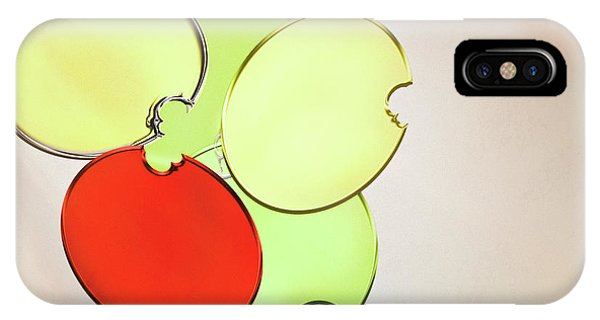 Circles Of Red, Yellow And Green IPhone Case