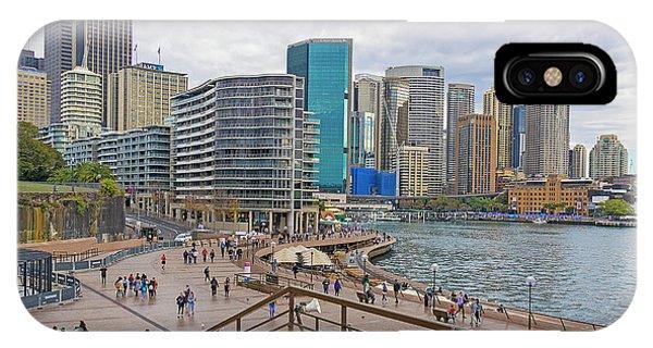 IPhone Case featuring the photograph Circular Quay, Sydney, Australia by Elaine Teague