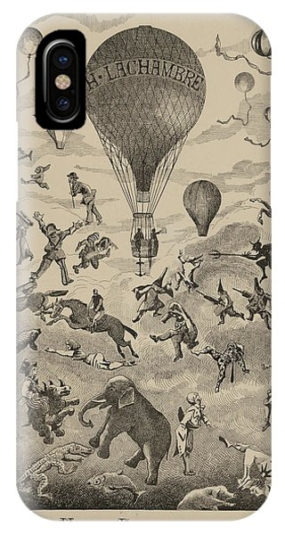 Circus Balloon IPhone Case