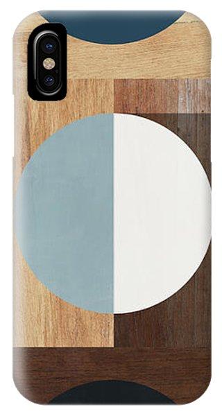 Abstract Modern iPhone Case - Cirkel Trio- Art By Linda Woods by Linda Woods