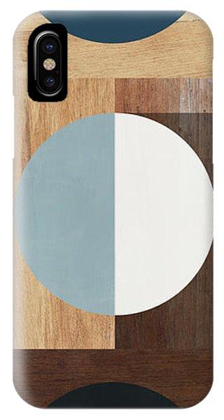 Artwork iPhone Case - Cirkel Trio- Art By Linda Woods by Linda Woods