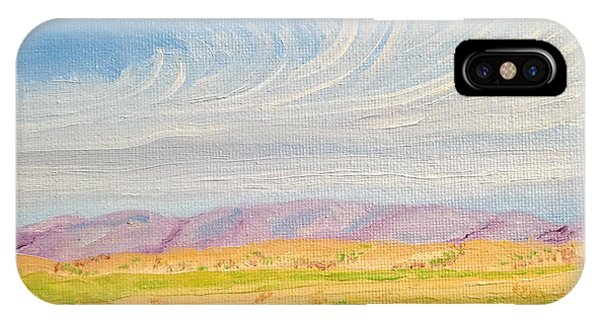 Cirrus-ly Palouse IPhone Case