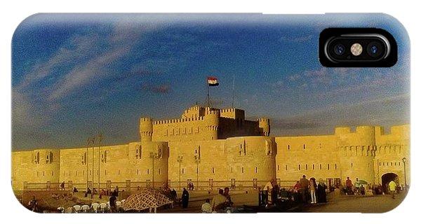 Citadel, Alexandria, Egypt IPhone Case