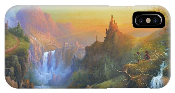 Citadel Of The Elves IPhone Case