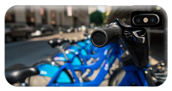 Citibike Handle Manhattan Color IPhone Case