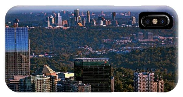 Cities Of Atlanta IPhone Case