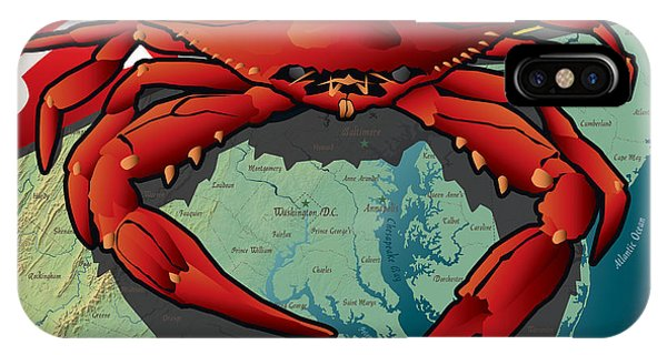 Citizen Crab Of Maryland IPhone Case