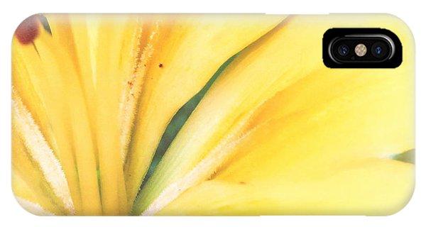 Citrine Blossom IPhone Case