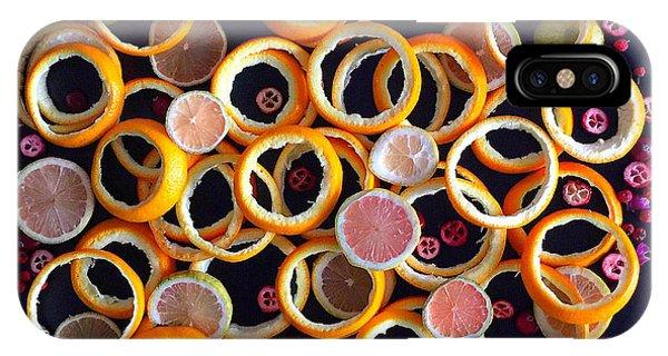 Citrus Delight IPhone Case