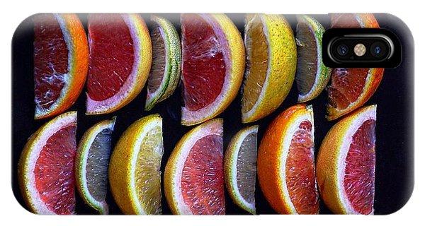 Wavy Citrus Lineage IPhone Case