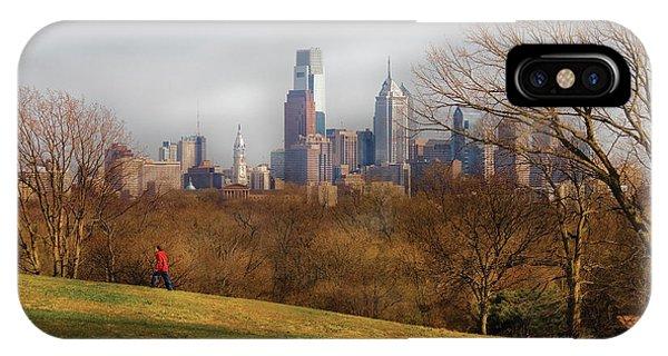 City - Philadelphia Pa  - The City Of Philadelphia  IPhone Case