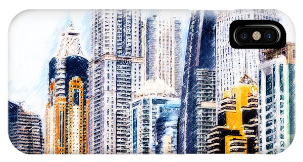 City Abstract IPhone Case
