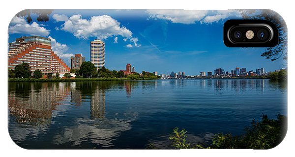 City Along The Charles IPhone Case