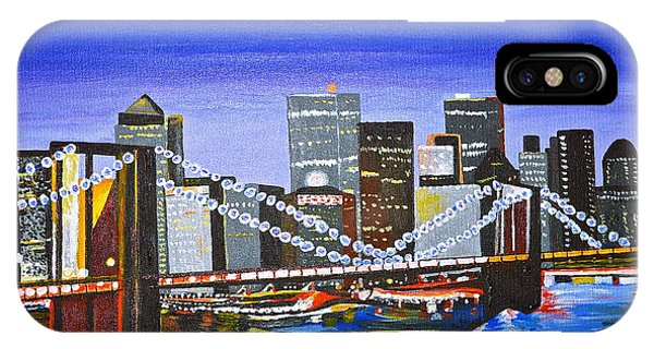City At Twilight IPhone Case