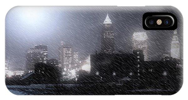 City Bathed In Winter Phone Case by Kenneth Krolikowski