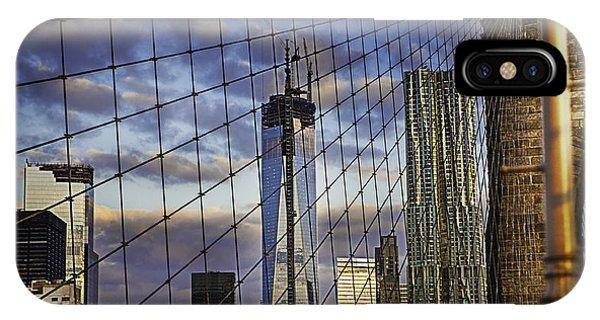 City Between The Bridge IPhone Case