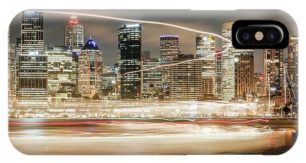 City Blur IPhone Case