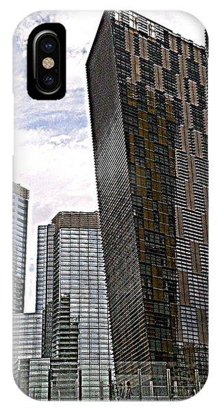 City Center At Las Vegas IPhone Case