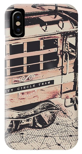 Victoria iPhone Case - City Circle Street Artwork by Jorgo Photography - Wall Art Gallery