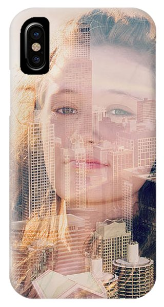 City Girl Phone Case by Maria Dryfhout