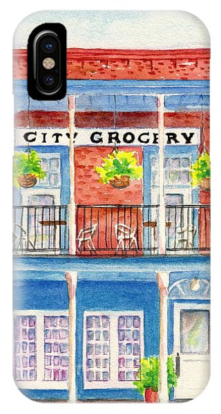 City Grocery Oxford Mississippi  IPhone Case
