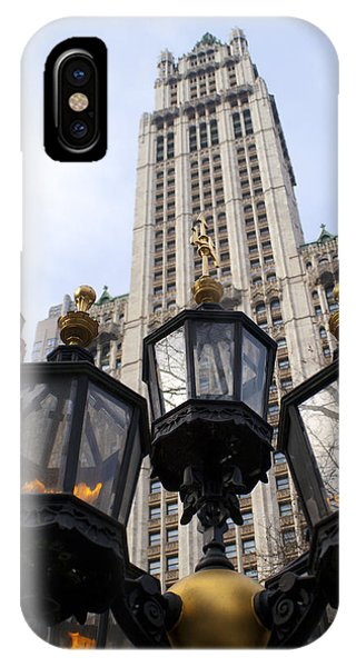 City Hall Area Nyc IPhone Case