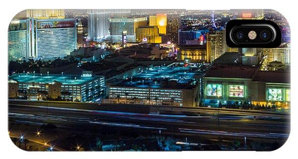 City Lifescape View Las Vegas IPhone Case