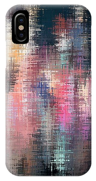 IPhone Case featuring the digital art City Lights by David Manlove