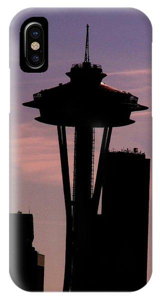 Seattle iPhone Case - City Needle by Tim Allen