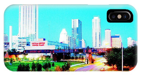 City Of Austin From The Walk Bridge 2 IPhone Case