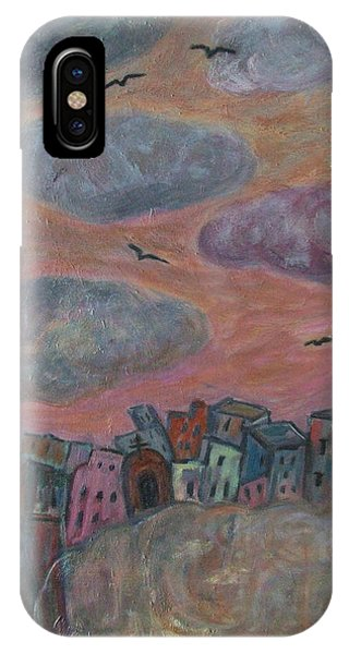 City Of Clouds IPhone Case