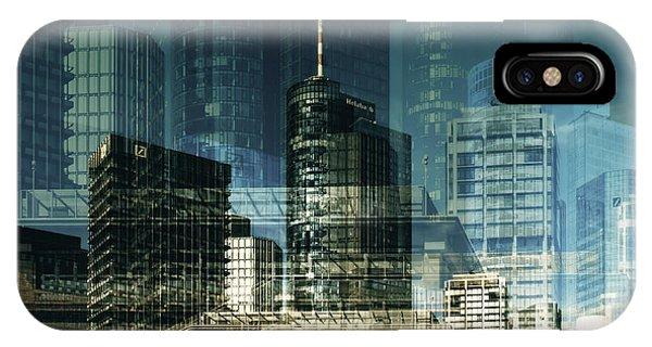 city of Frankfurt IPhone Case