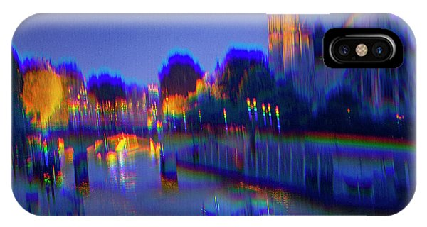 iPhone Case - City Of Lights by Ron Morecraft