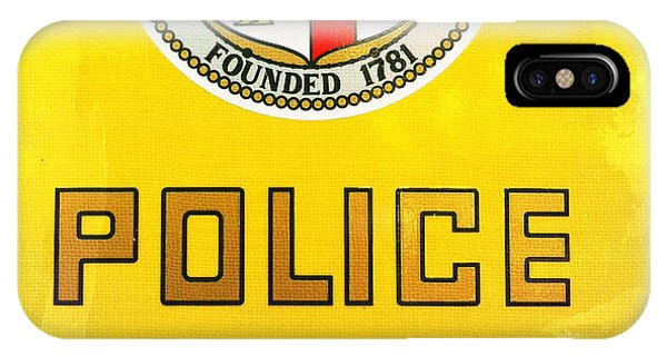 City Of Los Angeles - Police IPhone Case