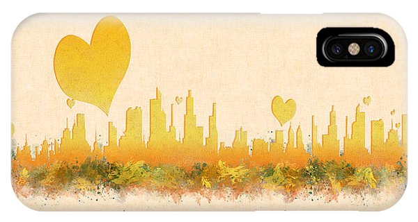 City Of Love IPhone Case