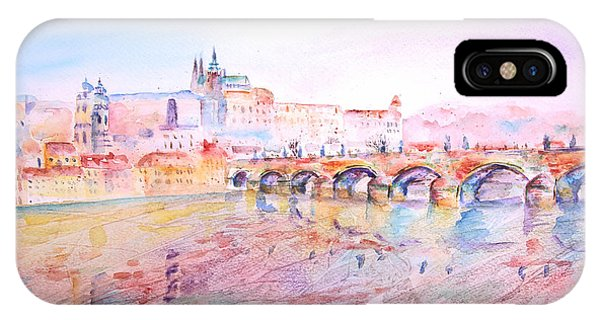City Of Prague IPhone Case