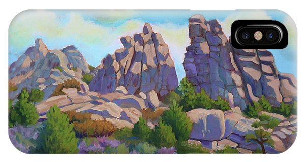 City Of Rocks IPhone Case