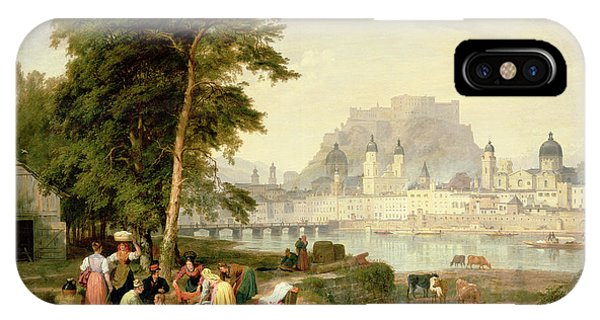 City Of Salzburg IPhone Case