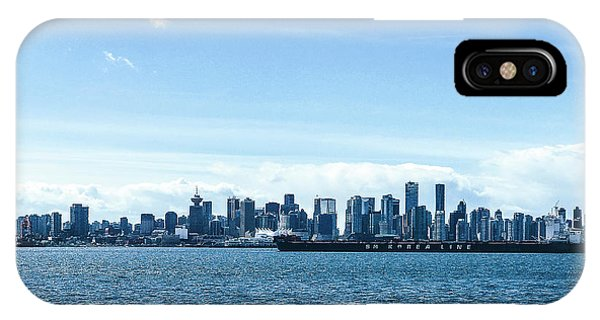 City Of Vancouver From The North Shore IPhone Case