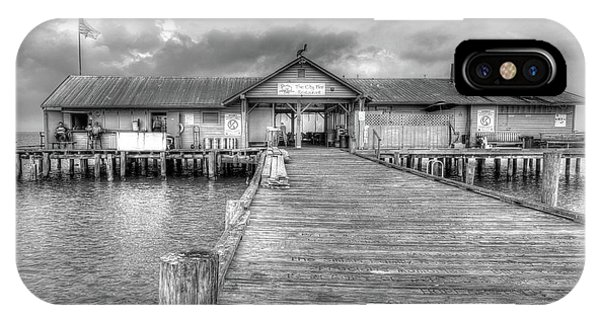 IPhone Case featuring the photograph City Pier Anna Maria Island by Paul Schultz