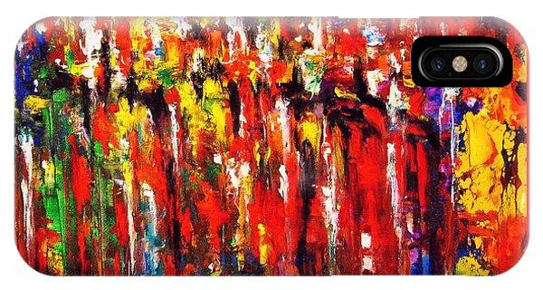 City. Series Colorscapes. IPhone Case