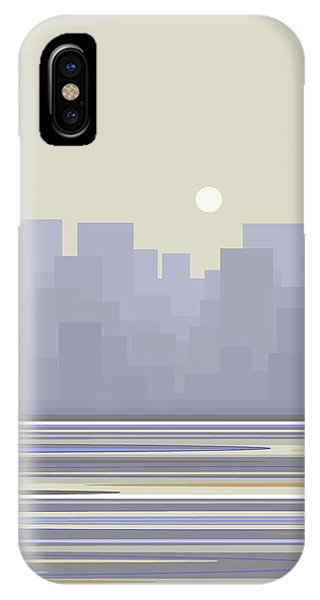 City Skyline Morning IPhone Case