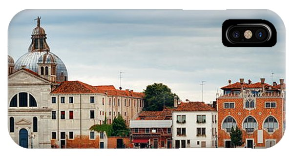 IPhone Case featuring the photograph City Skyline Of Venice Panorama by Songquan Deng