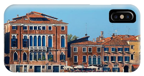 IPhone Case featuring the photograph City Skyline Of Venice by Songquan Deng