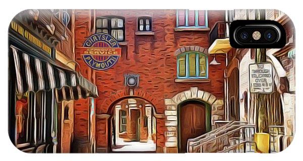 iPhone Case - City Street by Harry Warrick