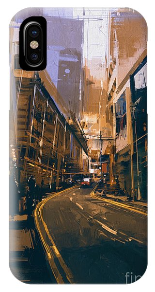 City Street IPhone Case
